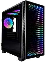 CUK Continuum Micro Gamer PC (Liquid Cooled Intel Core i9 K-Series, 64GB RAM, 1TB NVMe SSD + 2TB HDD, NVIDIA GeForce RTX 3080 10GB, 850W PSU, AC WiFi, Windows 10 Home) Gaming Desktop Computer