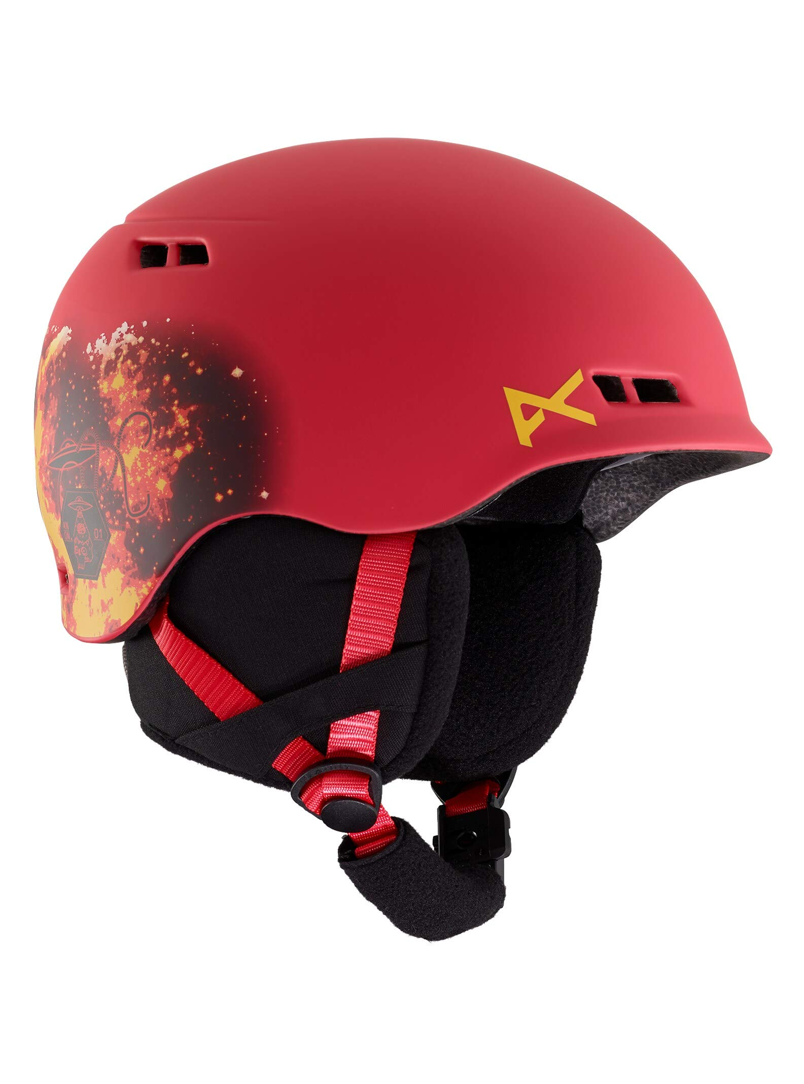 Anon Kids' Lightweight Burner Ski/Snowboard Helmet with BOA Fit System
