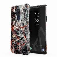 BURGA Phone Case Compatible with LG G7 Case Volcano Island Lava Fire Black Marble Cute for Women Thin Design Durable Hard Shell Plastic Protective Case