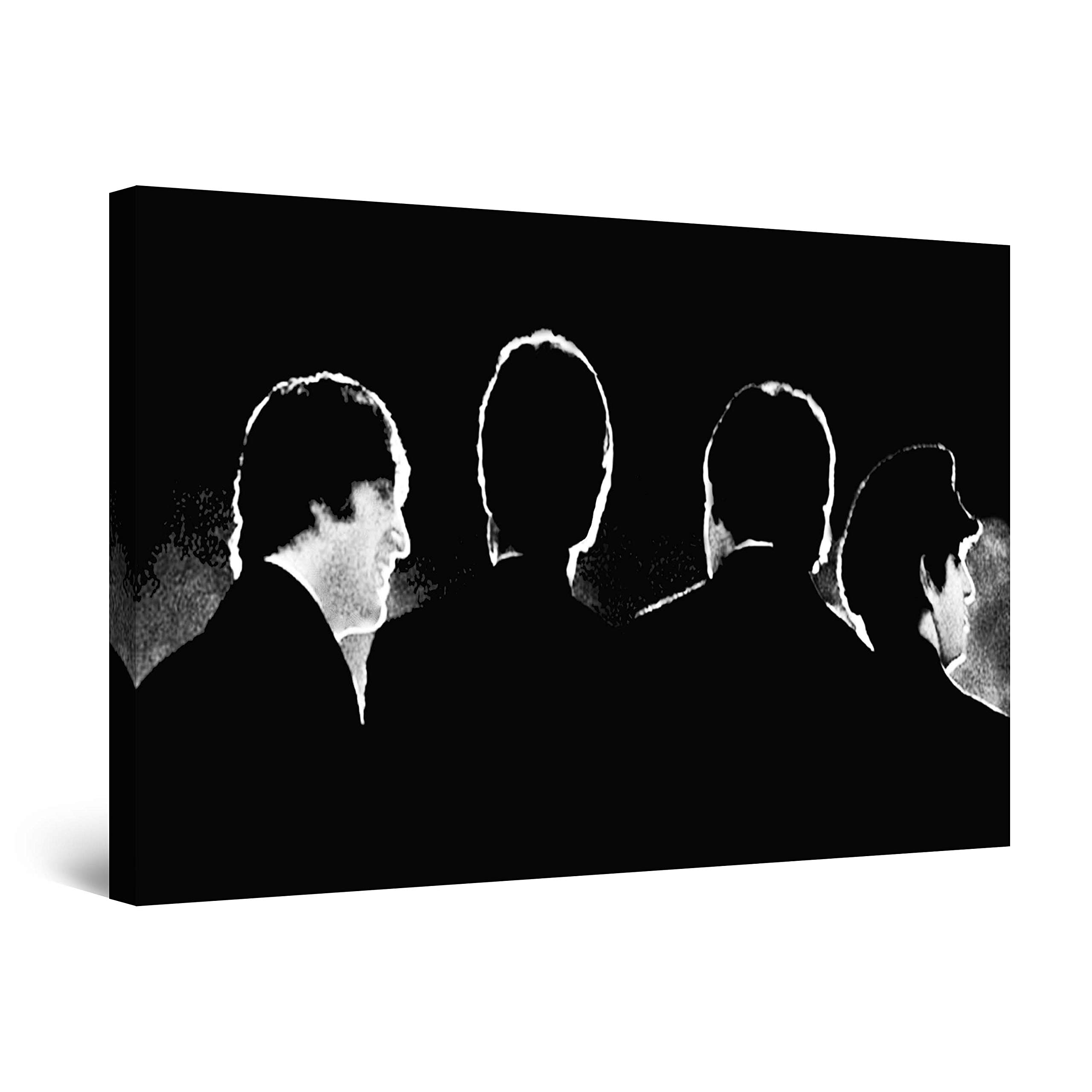 Startonight Wall Art Canvas The Beatles, Music Framed 24 x 36 Inches