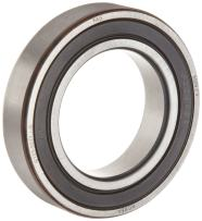 FAG 6017-2RSR-C3 Deep Groove Ball Bearing, Single Row, Double Sealed, Steel Cage, C3 Clearance, Metric, 85mm ID, 130mm OD, 22 mm Wide 6000rpm Maximum Rotational Speed, 9670lbf Static Load Capacity, 11100lbf Dynamic Load Capacity