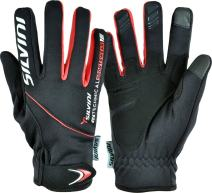 SILVINI Men's Ortles Winter Gloves with Softshell Membrane and Non Slip Silicone Fingers Straps