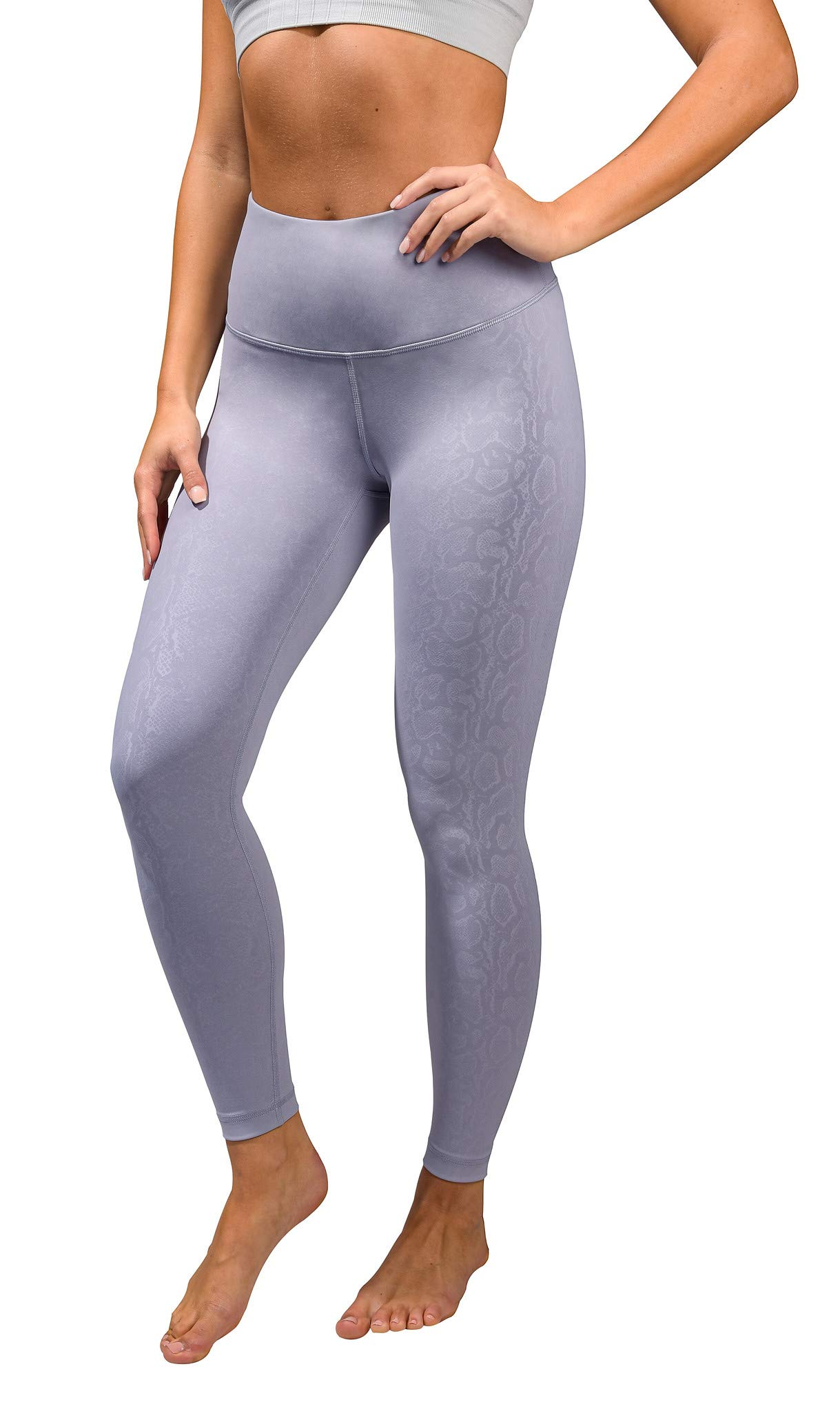 90 Degree By Reflex - Performance Activewear - Printed Yoga Leggings