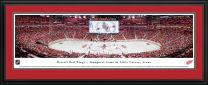 Detroit Red Wings, 1st Game at Lil Caesars - NHL Posters, Framed Pictures and Wall Decor by Blakeway Panoramas