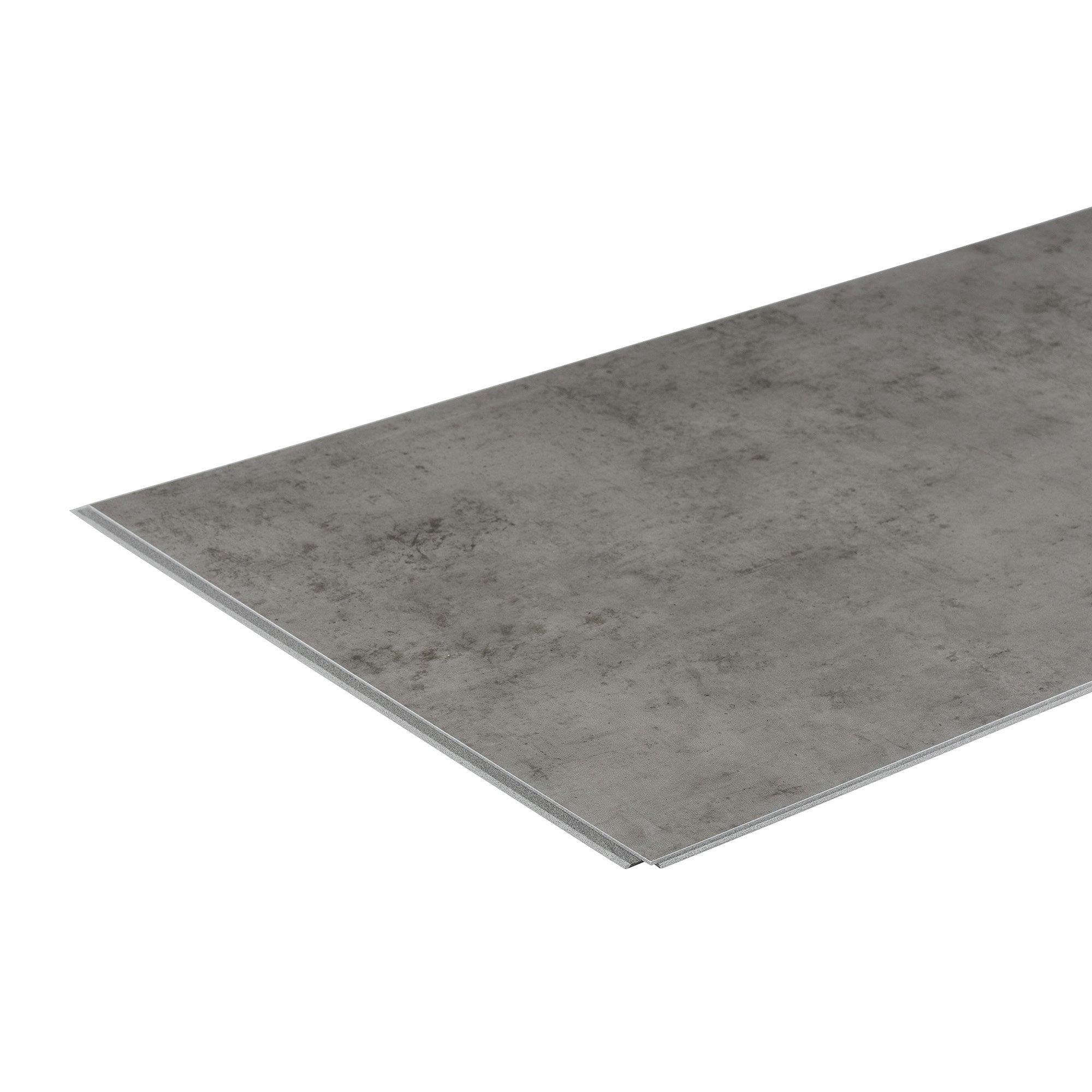 Interlocking Vinyl Wall Tile by DumaWall - Waterproof, Durable Backsplash Panels for Kitchen, Bathroom, or Shower (Steel Wool)(Sample)