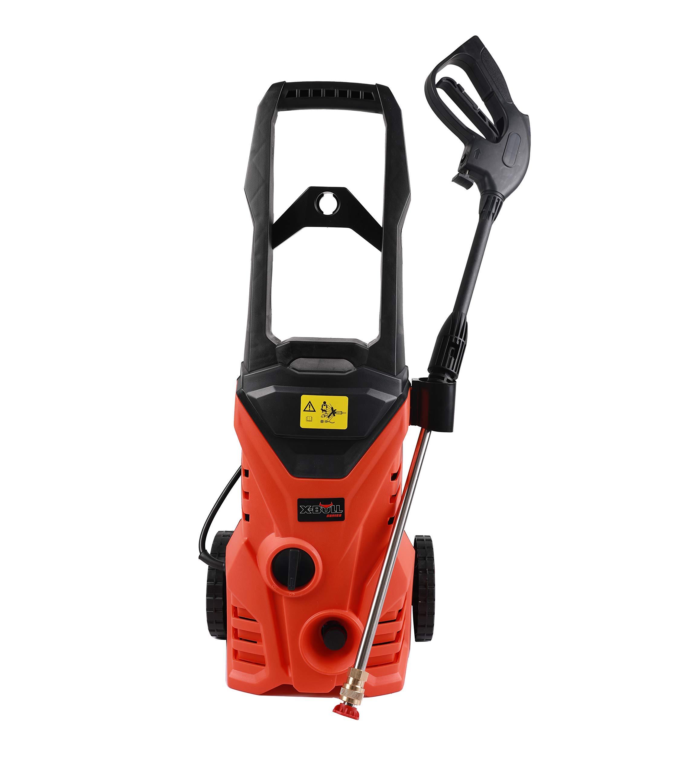 X-BULL Pressure Washer 2500PSI 1.8GPM Electric Power Washer Orange