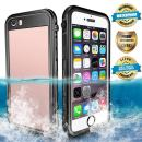 EFFUN Waterproof iPhone 6/iPhone 6s Case, IP68 Certified Water/Dirt/Snow/Shockproof Case with Cell Phone Holder, PH Test Paper, Stylus Pen, Floating Strap Black/White/Pink/Aqua Blue/Light Blue