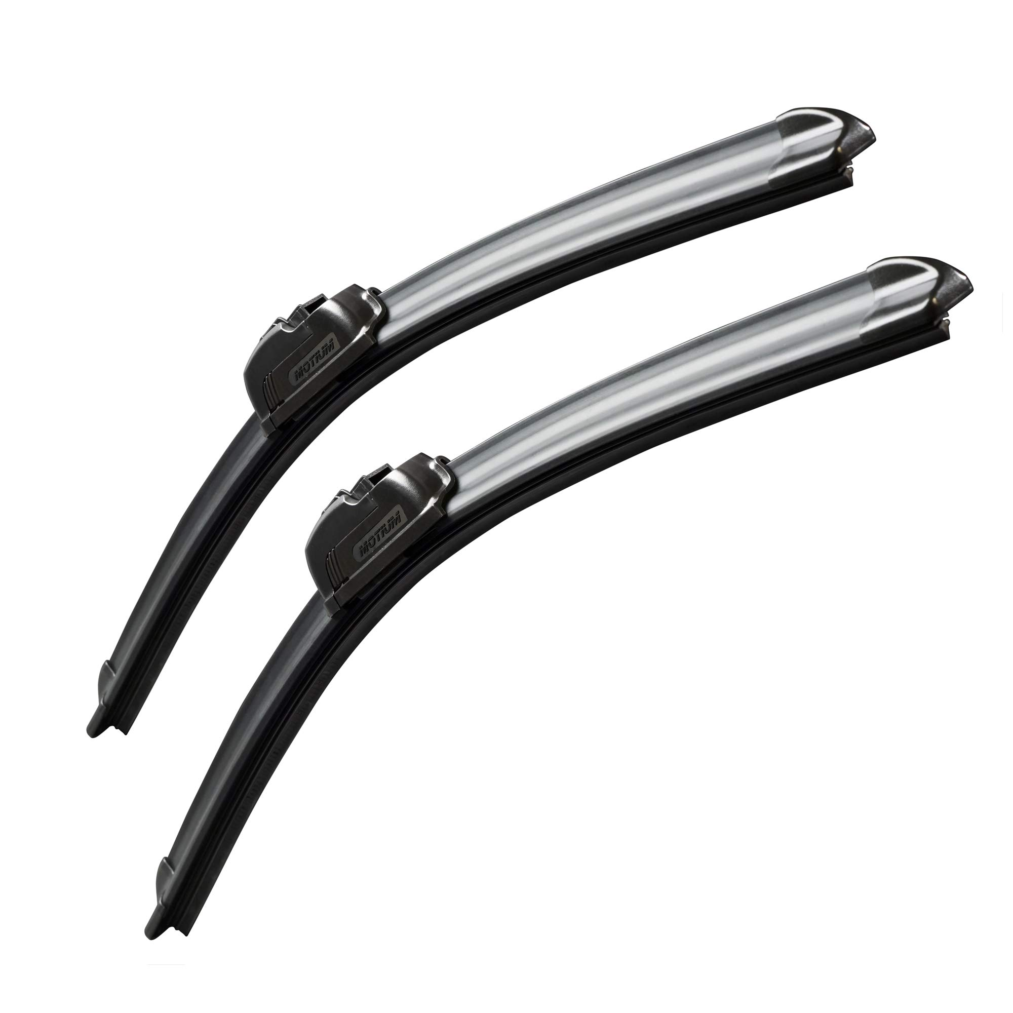 "MOTIUM OEM QUALITY 26"" + 20"" Premium All-Season Windshield Wiper Blades,1 Year Warranty(Set of 2)…"