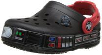 Crocs Kids' Fun Lab Lights Clog Luke Skywalker | Light Up, Slip On Water Shoes for Boys