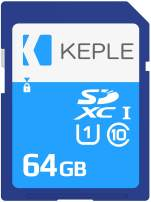 64GB SD Memory Card | SD Card Compatible with Canon EOS Series 1300D, 800, M10, 7D Mark II, M2, 750D, 760D, Kiss M, 5DS X DSLR Camera | 64 GB
