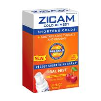 Zicam Cold Remedy Oral Mist, Cherry Flavor, 1 Ounce Soothes Sore Throats and Coughs