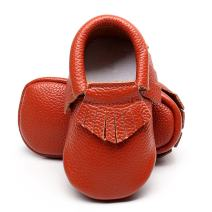 Ievolve Baby Leather Shoes Baby First Walking Shoes Baby Tassel Shoes Soft Sole Crib Shoes Baby Moccasins