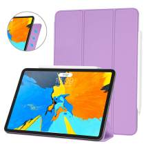 Ayotu Case for iPad Pro 11'' 2018(Old Model)Strong Magnetic Ultra Slim Minimalist Smart Case with Auto Sleep/Wake,Support Cover's Back fold adsorption,Trifold Stand Cover for iPad Pro 11'' 2018,Purple