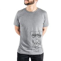 Inkopious Andy The Airedale Terrier Triblend T-Shirt