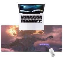 "Gaming Mouse Pads, Large Deak Mat, Desktop Home Office School Cute Decor Big Extended Pretty Desk Pad for Laptop Computer Accessories 35.4""x15.7""x0.1"""