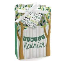 Family Tree Reunion - Family Gathering Party Favor Boxes - Set of 12