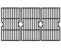 """VICOOL 16 7/8"""" Polished Porcelain Cast Iron Grill Grate Cooking Grid Replacement for Charbroil 463436213, 463436214, 463436215, 463420508, 463420509, 463441312, 463441514 Gas Grills, 3-Pack, (HyG876C)"""