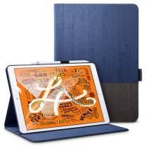 """ESR for iPad Mini 5 Case with Pencil Holder 7.9"""" 2019 [A2133/A2124/A2126/A2125], Urban Premium Folio Case Book Cover Design, Multi-Angle Viewing Stand Smart Cover Auto Sleep/Wake for iPad Mini 5th Gen"""