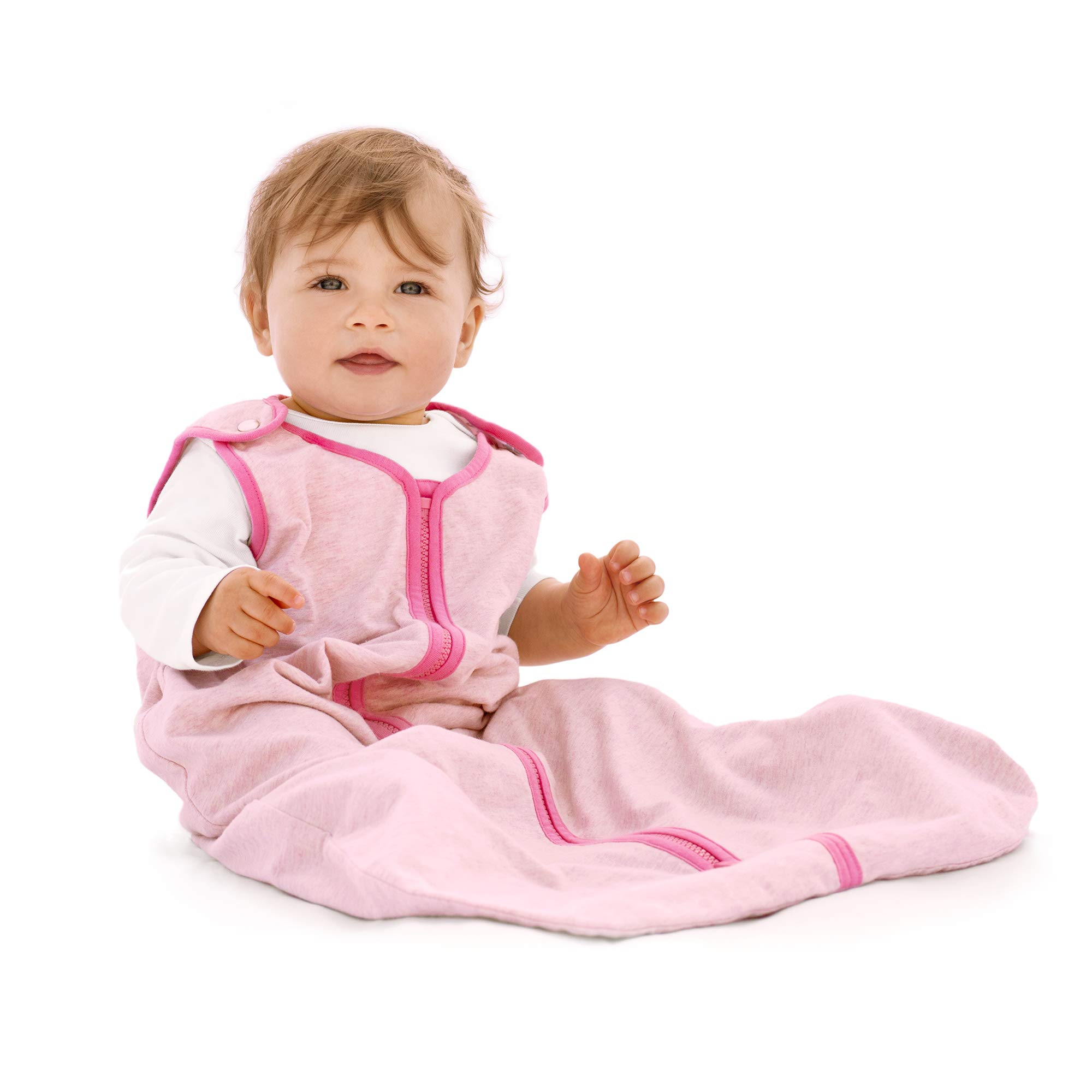 baby deedee Sleep Nest Lite Sleeping Bag Sack, Heather Pink, Large (18-36 Months)