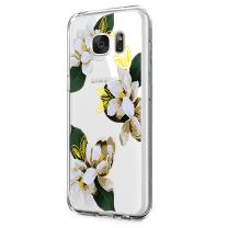 Neivi Case Compatible with Galaxy S6 Case Cover Slim Clear Design Reinforced TPU (color-11)