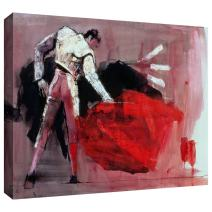 ArtWall Mark Adlington 'Matador' Gallery Wrapped Canvas Artwork, 36 by 48-Inch