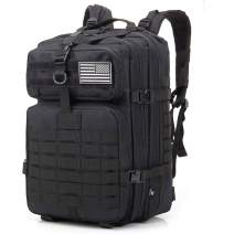 Military Tactical Backpack Molle Army Assault Pack for Men Large Capacity 42L