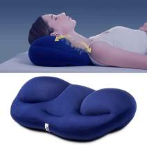 Maywind Microbead Pillows, Sleeping Neck Pillow with Micro Airballs Ergonomic Cervical Pillows for Neck Pain Back Side and Stomach Sleepers, Machine Washable