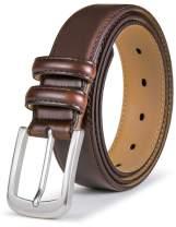 Mens Belt,Bulliant Genuine Leather Belt for Men's Dress Jeans Golf Belt