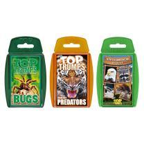 Wildlife Top Trumps Card Game Bundle
