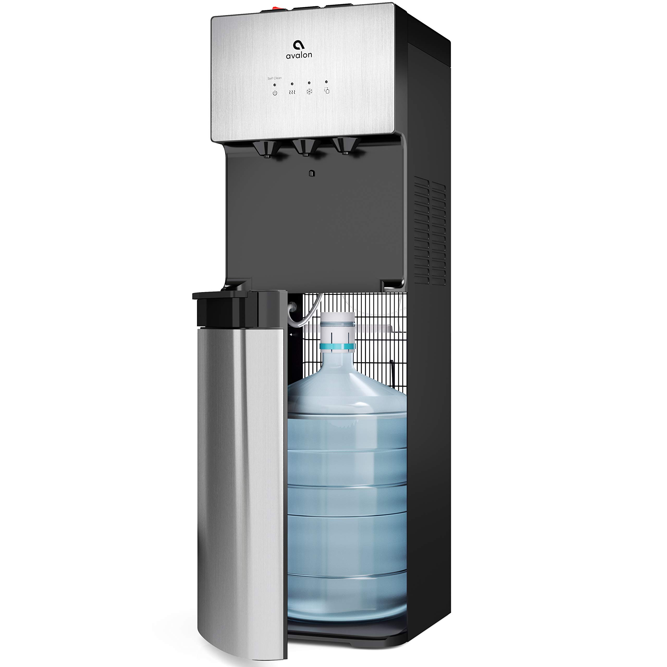 Avalon Limited Edition Self Cleaning Water Cooler Dispenser, 3 Temperature Settings - Hot, Cold & Cool Water, Durable Stainless Steel Construction, Bottom Loading - UL/Energy Star Approved