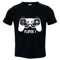 Funny Kids Clothes, Shirt for Kids, Player 1 Shirt, Not Allowed to Date T-Shirt