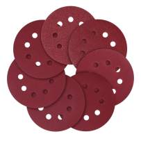 Sanding Discs, 5 inch (125mm) 8 Holes,40 80 120 240 320 600 800 Assorted Grits Sandpaper(70 Pcs)