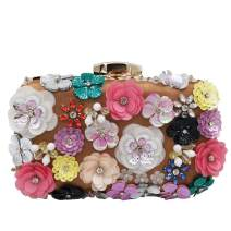 Vintage Women Flower Clutch Purse Evening Bags and Clutches Bridal Wedding Party Handbags