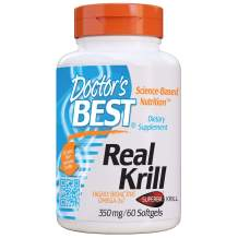 Doctor's Best Real Krill, 350mg 60-Count