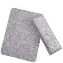 YARUMI Professional Nail Art Hand Pillow with Mat,Shiny Manicure Art Foldable Manicure Table Mat,Salon Nail Polish Arm Rest Holder Sponge Nail Pillow,Beauty Nail Design Manicuring Table Decor,Silver