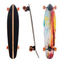 Awaken 42 x 9.5 Inch Kick Tail Longboard Cruiser for Freeride Downhill and Cruise