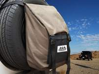 Spare Tire Trash and Gear Bag w/Seat Organizer - Great Off-Road Accessory for Jeep/SUV/RV/Overlanding