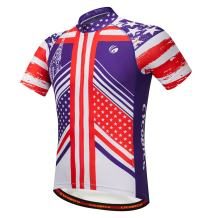 CYCOBYCO Men's Cycling Jersey Short Sleeve Reflective,Light,Breathable and Quick Drying