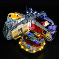 BRIKSMAX Led Lighting Kit for Betrayal at Cloud City - Compatible with Lego 75222 Building Blocks Model- Not Include The Lego Set