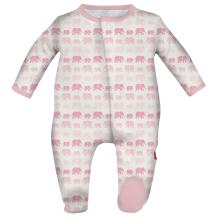 Magnetic Me Easy Close Soft Modal Baby Footie for Boys or Girls