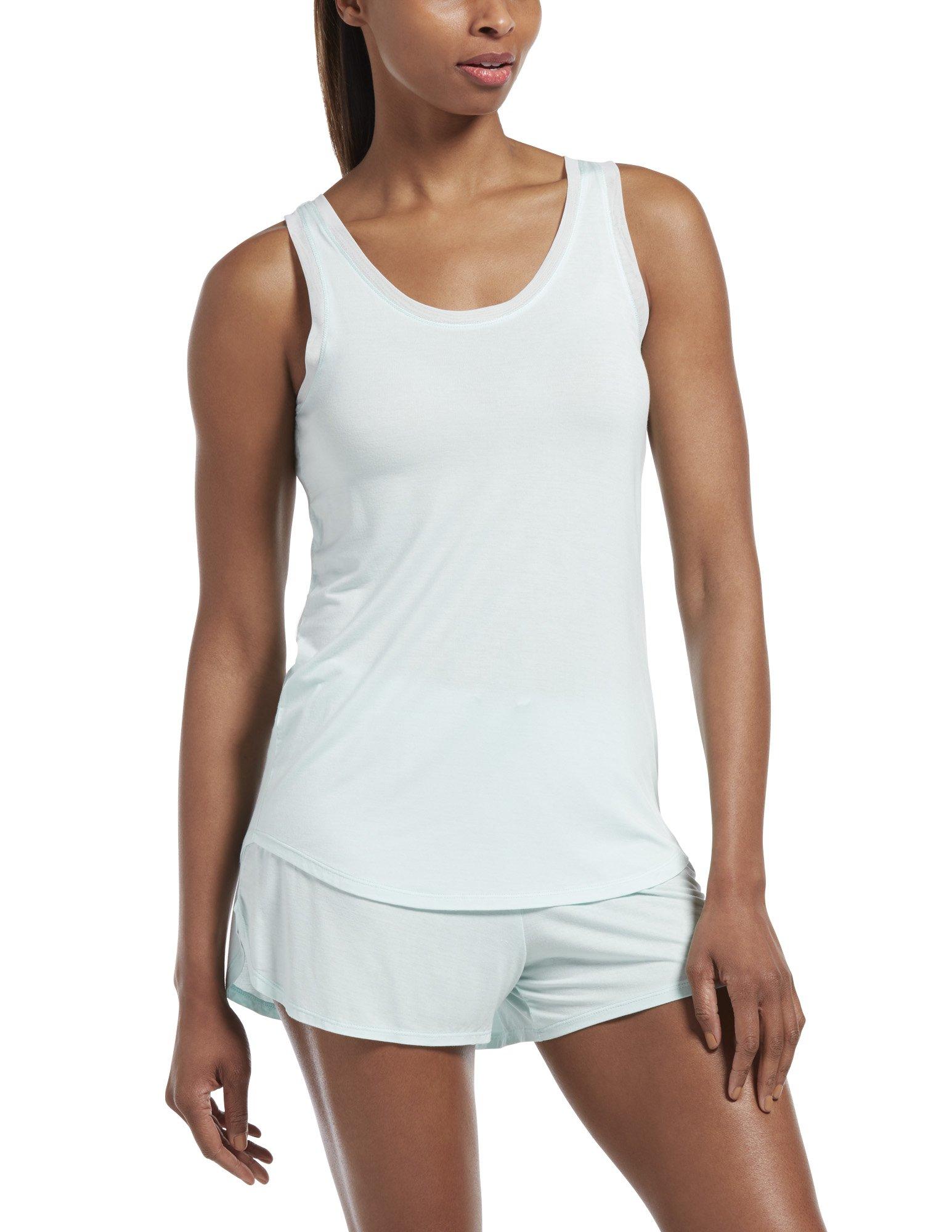 HUE Women's Sleepwell with Temptech Pajama Sleep Tank Top