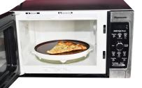 Microwave Browning Plate   Crisper Tray - by Home-X