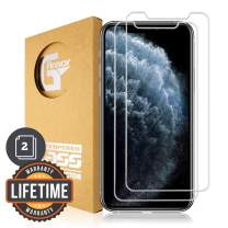 G-Armor iPhone 11 Pro, Xs, X Screen Protector Tempered Glass (2 Pack) - 9H Premium Glass Screen Protection Cover, Phone Case Friendly, HD Clear, 5.8-inch iPhone Accessories