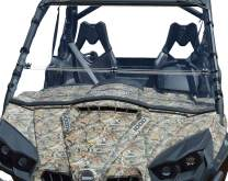 Clearly Tough Can Am Commander Windshield - Full Folding -Scratch Resistant- The Ultimate in Side by Side Versatility!Premium Poly w/Hard Coatmade in America!!