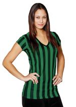 Mato & Hash Womens Referee Shirts | Comfortable V-Neck Ref Shirt for Waitresses, Refs, More!