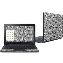 """Mightyskins Skin Compatible with Samsung Chromebook 3 11.6"""" - Abstract Black 