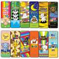 Cute Animal Greetings Bookmarks (30-Pack)- Unique Teacher Stocking Stuffers Gifts for Boys, Girls, Kids, Teens, Students - Book Reading Clippers