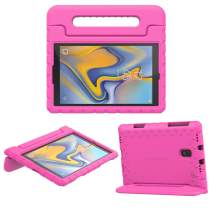 MoKo Case Fit Samsung Galaxy Tab A 10.5 2018 SM-T590 / T595 / T597, EVA Kids Shock Proof Convertible Handle Light Weight Protective Cover Compatible Galaxy Tab A 10.5 Inch 2018 Tablet - Magenta