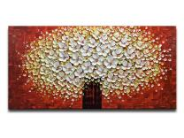 Desihum-Abstract Oil Painting Hand Painted Artwork Pictures on Canvas Wall Art Ready to Hang for Living Room (2448 inch(60120cm), Ds010)