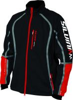 SILVINI Softshell Black Jacket Anteo Windproof Water Resistant & Breathable with Bamboo Liner for Cycling and All Other Outdoor Activities